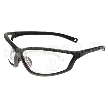 Full frame safety glasses with rx inserts available