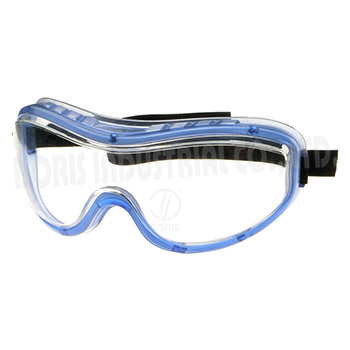 Safety goggles with indirect ventilation