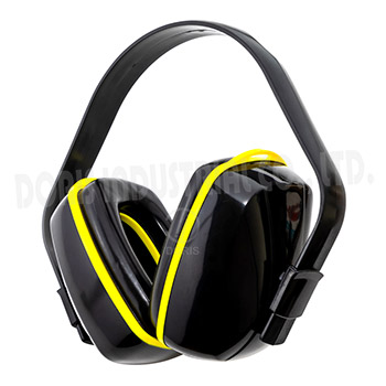 Adjustable safety ear muffs